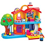 CP Toys Toddler Interactive Discovery House Playset with Sounds