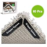 Rug Gripper Carpet Corner Weights No Slip Anti Curling Non Sliding Double Sided Indoor Outdoor...
