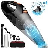 Handheld Cordless Vacuum Cleaner Upgraded 6500PA Strong Suction Wet & Dry Use Portable Rechargeable...