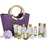 Spa Luxetique Lavender Spa Gift Baskets for Women, Premium 10pc Gift Baskets, Best Holiday Gift Set...