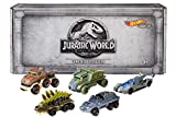 Hot Wheels Jurassic World Character Cars, 5 Pack (Amazon Exclusive)