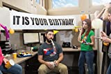 It is Your Birthday Banner The Office - Banner from The Office Birthday Decorations - Vinyl Birthday...