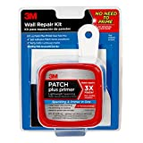 3M PPP Kit with 8 fl. oz Plus Primer, Self-Adhesive Patch, Putty Knife and Sanding Pad, 1 tub
