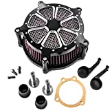 Turbine Edge Cut Air Intake Kit For Harley Sportster XL1200 Iron 883 Forty Eight for Harley Davidson...