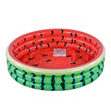 Kiddie Pool, Watermelon 3 Ring Inflatable Pool for Kids, Ideal Water Pool in Summer, 45 Inches...