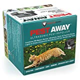 PREDATORGUARD PestAway Ultrasonic Outdoor Animal & Cat Repeller with Motion Sensor Stops Pest...