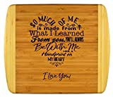 Mothers Gift - Special Love Heart Poem Bamboo Cutting Board Design Mom Gift Mothers Day Gift Mom...