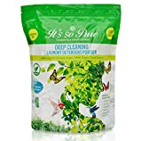 Wow- All Natural Vegan Laundry Detergent, Fragrance Free HE Washing Powder, Plant Based Chemical...