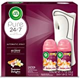 Air Wick Pure Freshmatic Automatic Spray Starter Kit, (Gadget + 2 Refills), Summer Delights, Air...