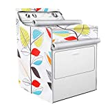 Washer/Dryer Cover,Fit for outdoor top-load and front load machine,Zipper design for easy...