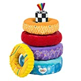 LAMAZE - Rainbow Stacking Rings Toy, Help Baby Develop Fine Motor Skills and Hand-Eye Coordination...