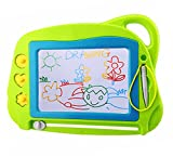 Magnetic Drawing Board Mini Travel Doodle, Erasable Writing Sketch Colorful Pad Area Educational...