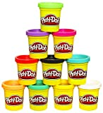 Play-Doh Modeling Compound 10-Pack Case of Colors, Non-Toxic, Assorted Colors, 2-Ounce Cans, Ages 2...