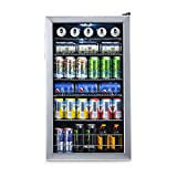 NewAir Beverage Cooler and Refrigerator, Mini Fridge with Glass Door, Perfect for Soda Beer or Wine,...