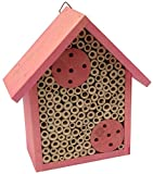 Mason Bee House - Bamboo Tube Bee Hotel for Solitary Bees - Attract More Pollinating Bees to Your...