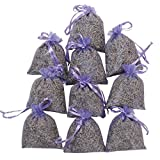 RakrisaSupplies Purple Bags Pack of 15   Natural Deodorizer and Highest Fragrance Lavender Scent...