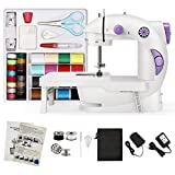 Magicfly Mini Sewing Machine for Beginner, Dual Speed Portable Sewing Machine Machine with Extension...