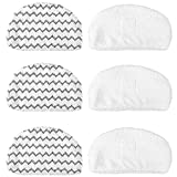 6Pcs Amyehouse Washable Mopping & Scrubbing Pads Replacement for Bissell Powerfresh 1940 1440 1544...