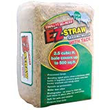 EZ-Straw Seeding Mulch with Tack - Biodegradable Organic Processed Straw - 2.5 CU FT Bale (covers up...