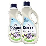 Downy Nature Blends Liquid Fabric Conditioner & Softener, Honey Lavender, 2 Count, 44 Ounces Each
