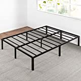Best Price Mattress Queen Bed Frame - 14 Inch Metal Platform Beds w/ Heavy Duty Steel Slat Mattress...