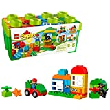 LEGO Duplo Creative Play 10572 All-in-One-Box-of-Fun, Open Ended Toy for Imaginative Play with Large...