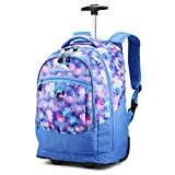 High Sierra Unisex Chaser Wheeled Laptop Backpack, 17-inch Student Laptop Backpack for High School...