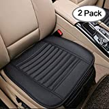 Big Ant Breathable 2pc Car Interior Seat Cover Cushion Pad Mat for Auto Supplies Office Chair with...