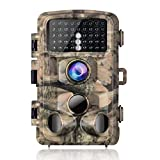 Campark Trail Game Camera 14MP 1080P Waterproof Hunting Scouting Cam for Wildlife Monitoring with...