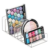 iDesign Clarity Vertical Plastic Palette Organizer for Storage of Cosmetics, Makeup, and Accessories...