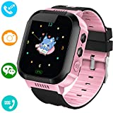YENISEY Kids Smart Watches Phone - 1.4' Touch Screen Children Phone Wristwatch with Call SOS Voice...