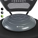 Gaiam Balance Disc Wobble Cushion Stability Core Trainer for Home or Office Desk Chair & Kids...