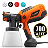 REXBETI 700 Watt High Power Paint Sprayer, 1000ml/min HVLP Home Electric Spray Gun with 1000ml...