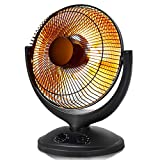 Tangkula Space Heater, Electric Portable Heater for Home and Office, with Timer and Adjustable...