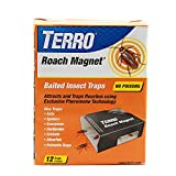 Terro T256 Roach Magnet Trap, 1 Pack, Brown/A