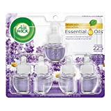 Air Wick plug in Scented Oil 5 Refills, Lavender & Chamomile, (5x0.67oz), Essential Oils, Air...