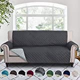 RHF Reversible Sofa Cover-Great for Home with Kids and Pets(Couch Cover for Dogs)-Features Elastic...