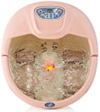 ArtNaturals Foot Spa Massager with Heat - Lights and Bubbles - Soothe and Relax Tired Feet with All...