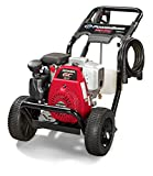 PowerBoss Gas Pressure Washer 3100 PSI, 2.7 GPM Powered by HONDA GC190 Engine with 25' High Pressure...