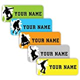 Original Personalized Peel and Stick Waterproof Custom Name Tag Labels for Adults, Kids, Toddlers,...