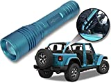Jeep Wrangler Accessories Bikini Colored LED Flashlight with Roll Bar Holster. Holster fits Jeep Jk...