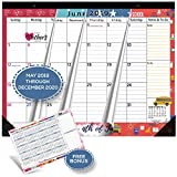 Magnetic Calendar 2019 - 2020 for Fridge by StriveZen, 17x12 inch, Large Monthly May 2019- Dec 2020,...