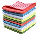 Sinland Microfiber Dish Cloth for Washing Dishes Dish Rags Best Kitchen Cloths Cleaning Cloths With...