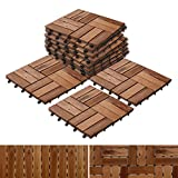 Acacia Wood Deck Tiles | Composite Decking, Flooring & Patio Pavers | Indoor and Outdoor Flooring...