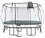 Springfree Trampoline - 13ft Jumbo Square With Basketball Hoop and Ladder