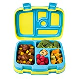 Bentgo Kids Brights - Leak-Proof, 5-Compartment Bento-Style Kids Lunch Box - Ideal Portion Sizes for...
