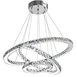 Modern Crystal Chandelier Lighting Ceiling Dining Room Living Room Chandeliers Contemporary Led...