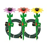 Melnor Multi-Adjustable Sprinklers and Garden Hoses Kit, Covers up to 1,800 sq. ft. - Can be Easily...