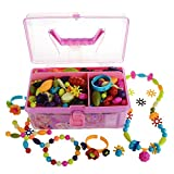 GILI Pop Beads, Arts and Crafts Toys Gifts for Kids Age 4yr-8yr, Jewelry Making Kit for 4, 5, 6, 7...