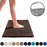 DEARTOWN 24x39 Inchs Bathroom Rug Carpet, Non-Slip Quick Drying Bath Mat with Water Absorbent Soft...